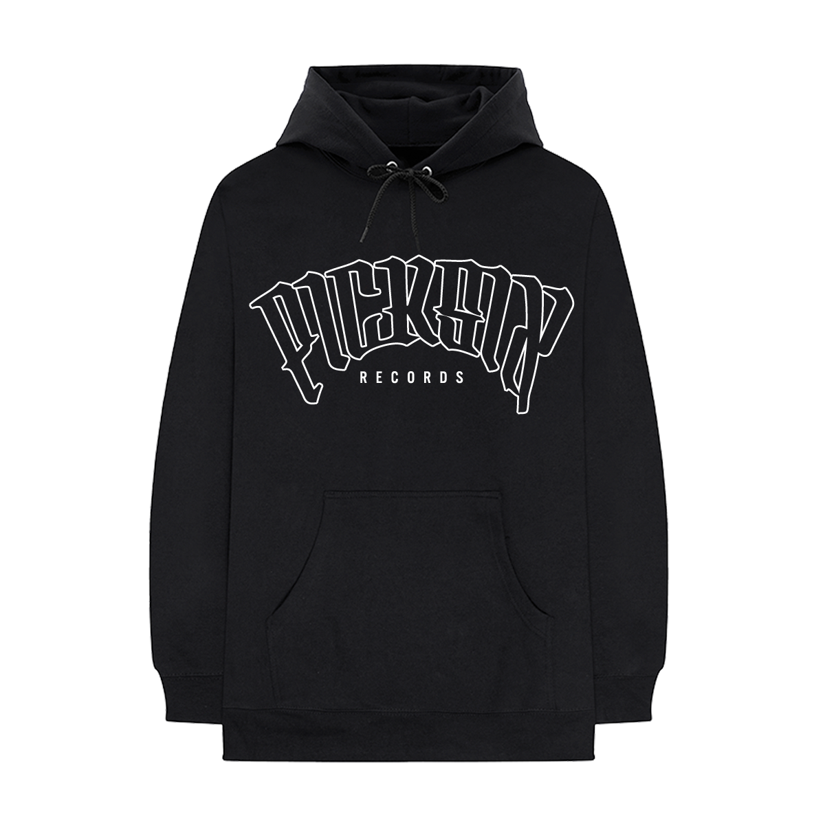 PICK SIX RECORDS OUTLINE HOODIE